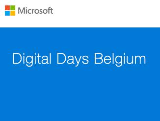 Genk, Antwerpen of Sint-Niklaas: Microsoft Digital Days