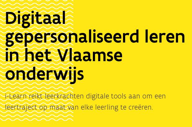Digitaal gepersonaliseerd met i-Learn