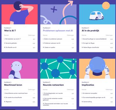 Gratis online cursus 'Elements of AI'